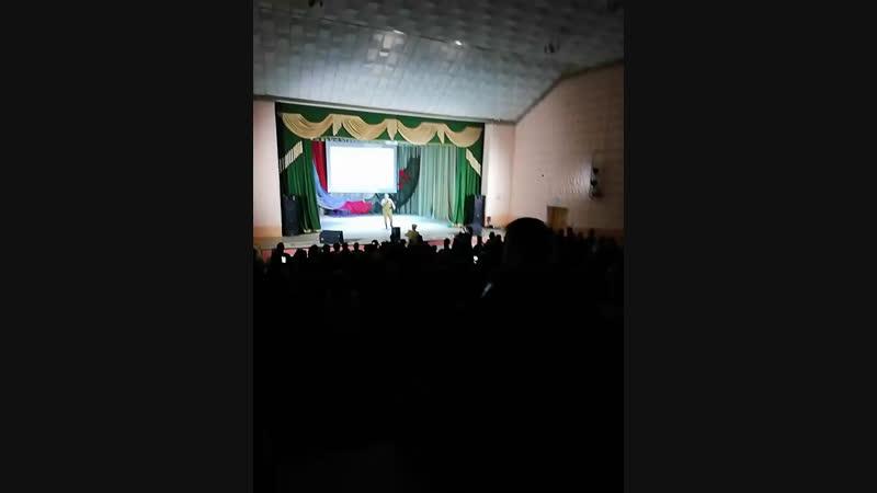 Концерт посвящённый 30-летию вывода войск с Афганистана