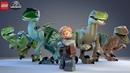 LEGO Jurassic World - НАШЛИ ДРЕВНИЕ ОСТАТКИ ДИНОЗАВРОВ