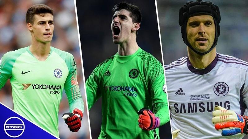 Arrizabalaga vs Courtois vs Cech Best Chelsea FC Saves