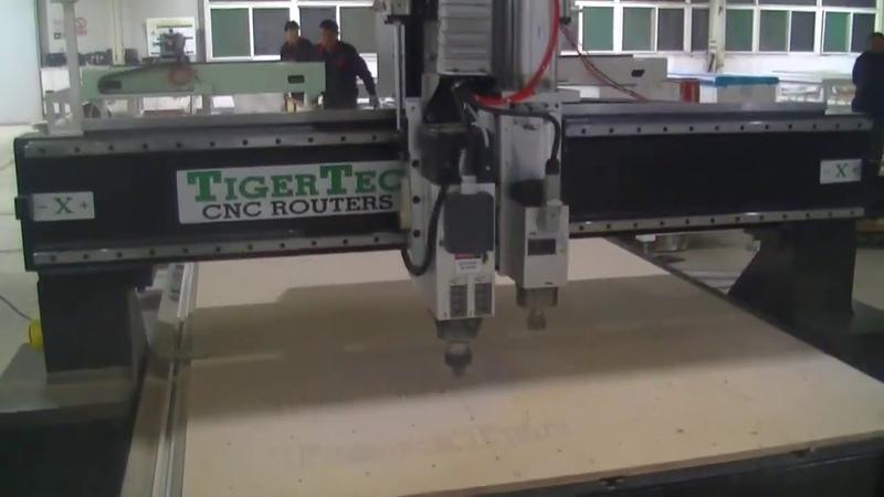 Фрезерный станок с ЧПУ TigerTec TR-AD 2 Spindles