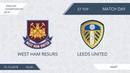 AFL18. England. Championship. Day 37. West Ham Resurs - Leeds United