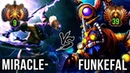 Miracle- Anti-Mage vs TOP 1 Tinker Funkefal - EPIC Battle Dota 2 Gameplay Patch 7.20e
