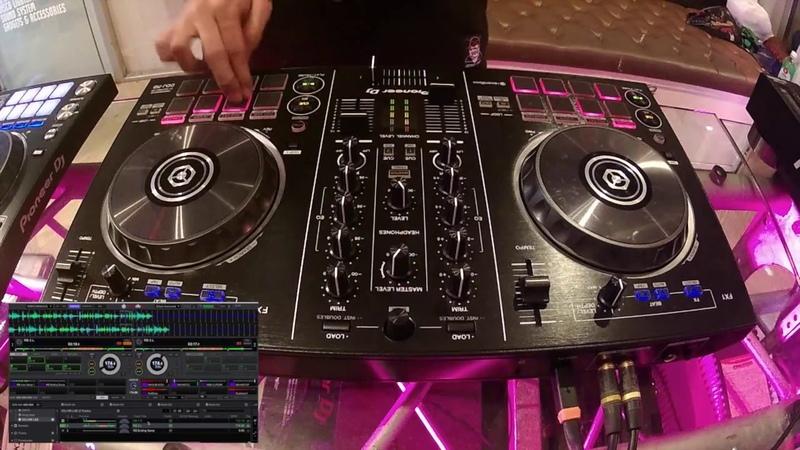 Pioneer DJ DDJ-RB Controller Scratch Mix Test Review