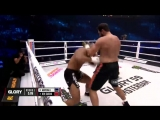 #GLORY59 Results Jamal Ben Saddik def. DAngelo Marshall by TKO (three-knockdown rule). Round 1, 057