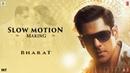 Slow Motion Song Making - Bharat Salman Khan Disha Patani Vishal Shekhar