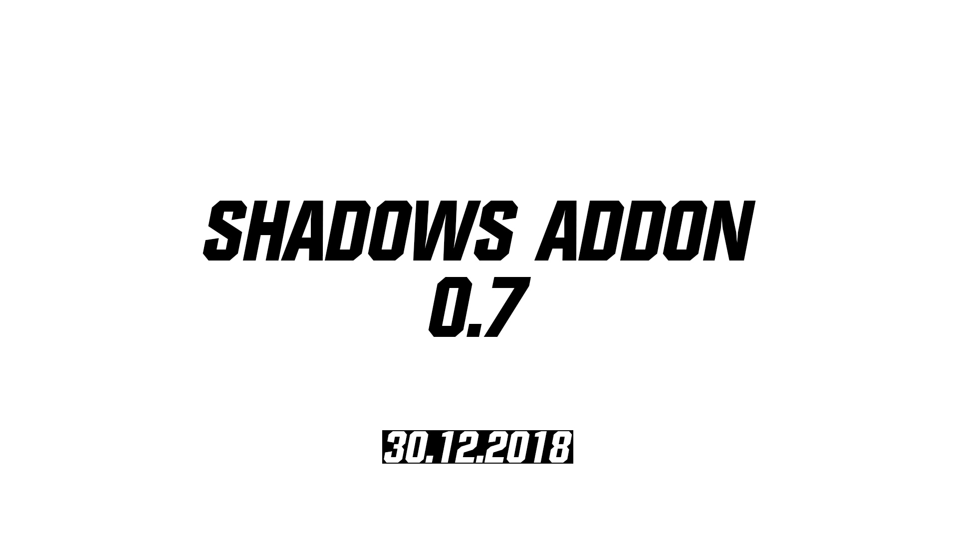[ТЧ] Shadows Addon 0.8