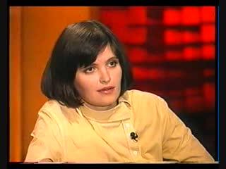 Авдотья Смирнова рассказывает Александру Проханову о своей любви к водке, 2002 год