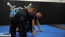 Arm bar from closed guard to triangle - Andre Galvao