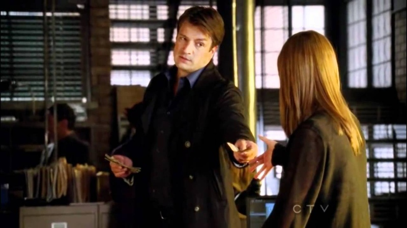 Let's be friends so we can make out... Castle is back [3x01]