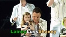 Westlife Croke Park 2010 Kids on stage!Nicole, Patrick and baby Shane Filan Rocco and Jay Byrne