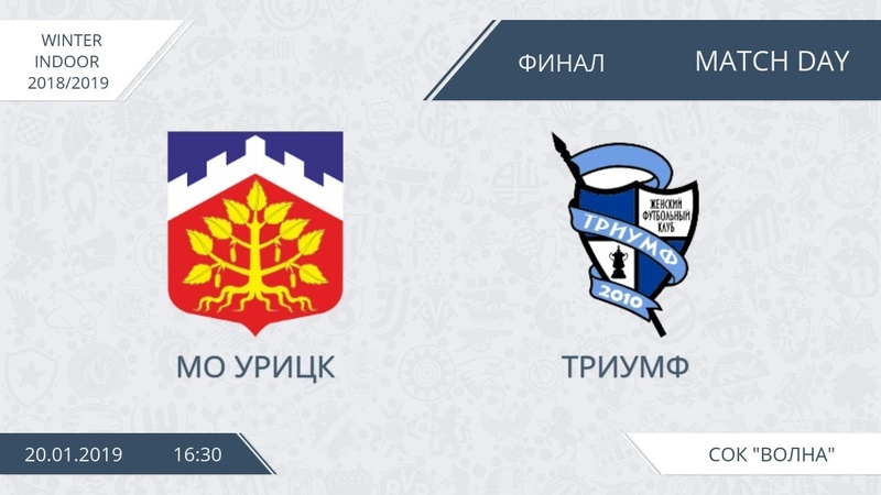 Winter Indoor МО Урицк Триумф суперфинал
