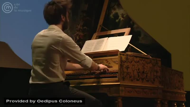 Bach_ Prelude and fugue for harpsichord in A major, BWV 896 _ Jean Rondeau