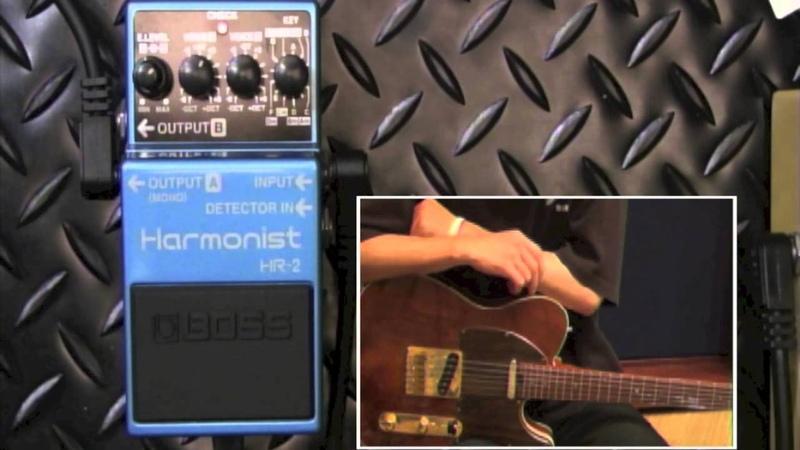 【試奏動画】BOSS HR-2 Harmonist 【BOSS COMPACT PEDAL 100th ANNIVERSARY!!】