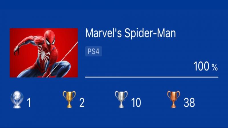 Marvel's Spider-Man (PS4) - ПЛАТИНА