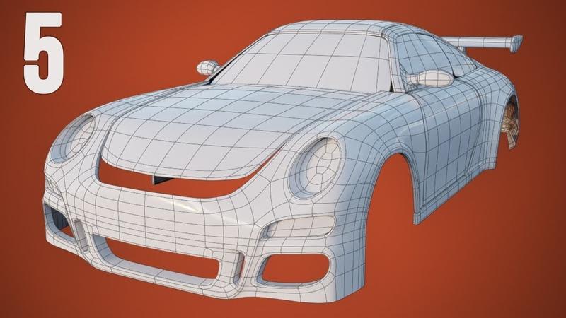 CGC Classic Modeling a Porsche Pt. 5 - Windows and Mirrors (Blender 2.4)