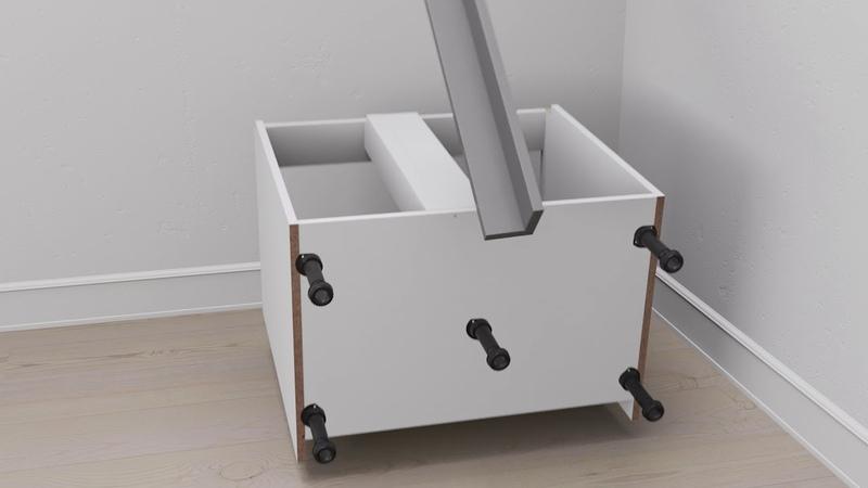 Wren Kitchens: How to fit a kitchen corner unit. Kitchen installation guide.