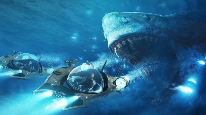Первая встреча с акулой. Мег: Монстр глубины (2018)
