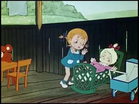 Детская песенка - Про папу и дочку (клип из мультфильмов)