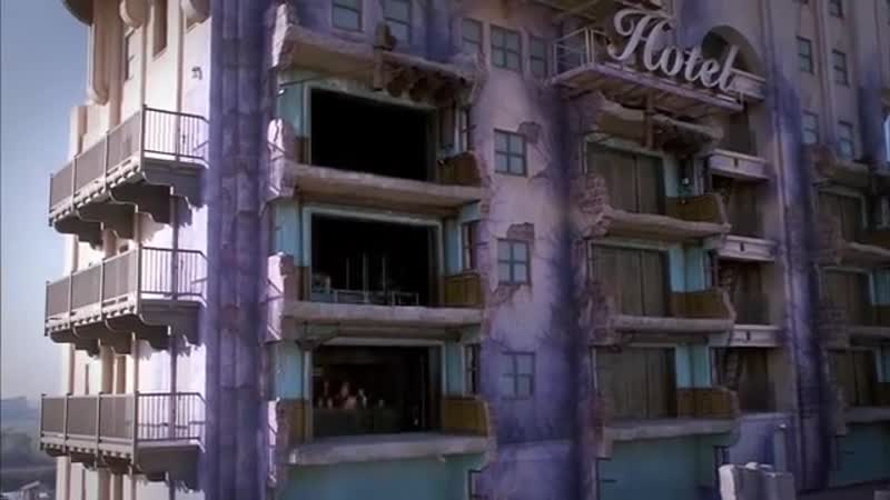 The Twillight Zone Tower of Terror в Hollywood Tower Hotel