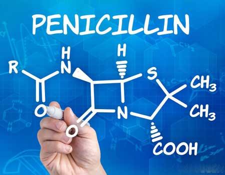 Прокаин пенициллин сочетает анестетик с типом пенициллина.