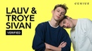 Lauv Troye Sivan i'm so tired Official Lyrics Meaning | Verified