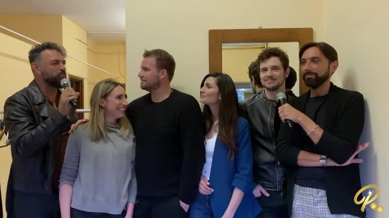 интервью труппы L'Ascensore для Poltronossima