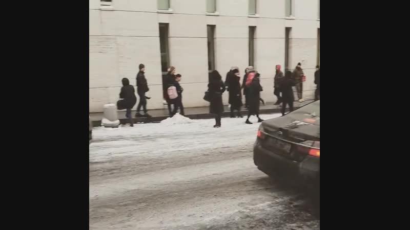 Хорошее начало рабочего дня эвакуация холодно эвакуация хо