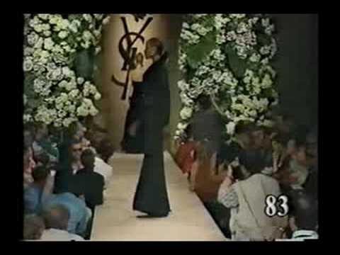 Yves Saint Laurent haute couture fall winter 1995 - part 4