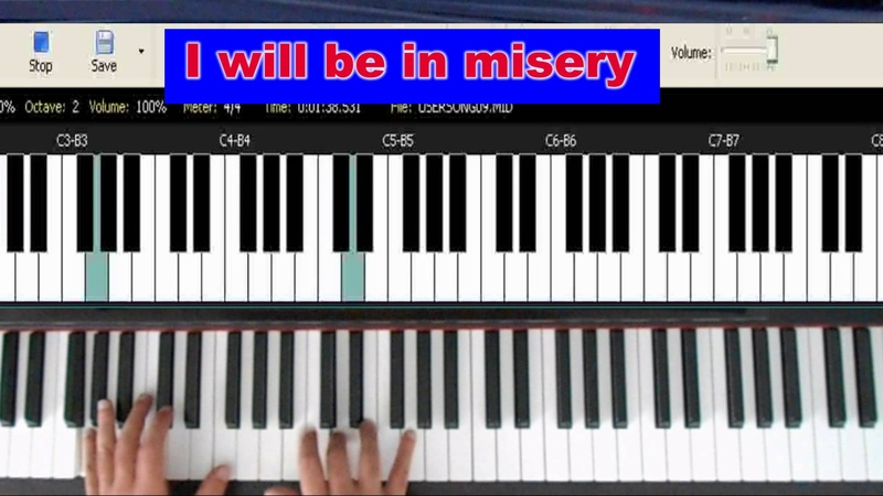 Muddy Waters - Blow Wind Blow - How to play it on the piano