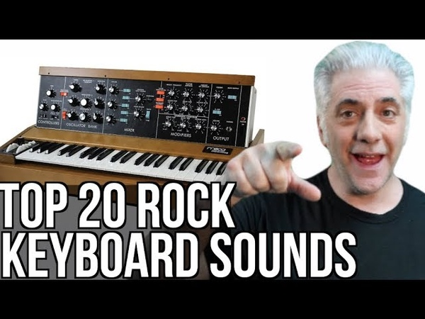 TOP 20 GREATEST KEYBOARD SOUNDS OF ALL TIME