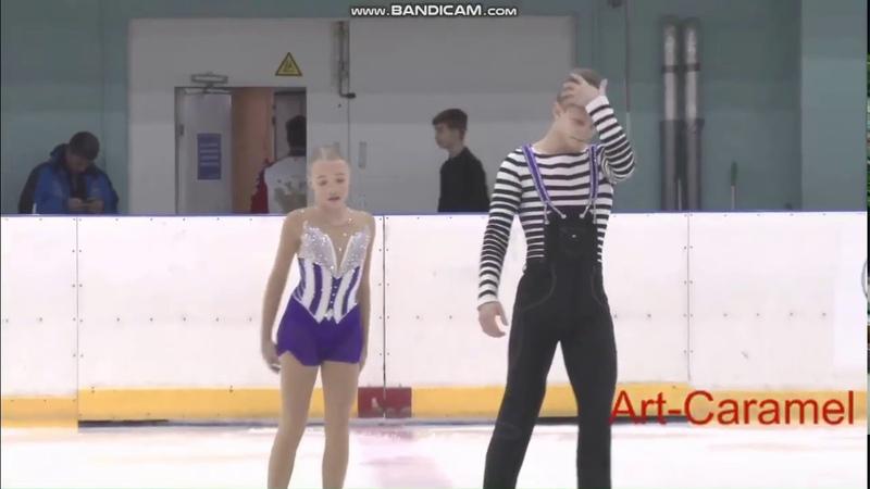 Анна Щеглова - Илья Калашников ПП КМС Первенство Санкт-Петербурга 2018