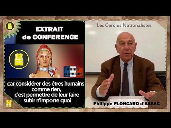 Gilets Jaunes: Conseils affûtés et soutien de Mr. Ph.Ploncard d'Assac (Remix)