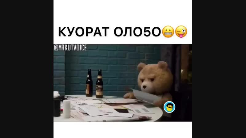 Сахалыы Позитив on Instagram_ _ТЕД уонна куо_0(MP4).mp4