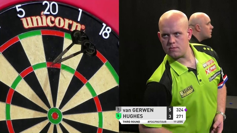 Van Gerwen's Incredible Nine-Darter! 2019 Players Championship 3