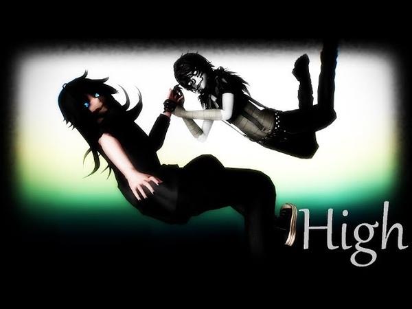 {MMD X Creepypasta} High {Laughing Jack x Jeff the Killer}