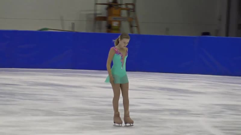 4 National competition 2018 Ekaterina KURAKOVA POL