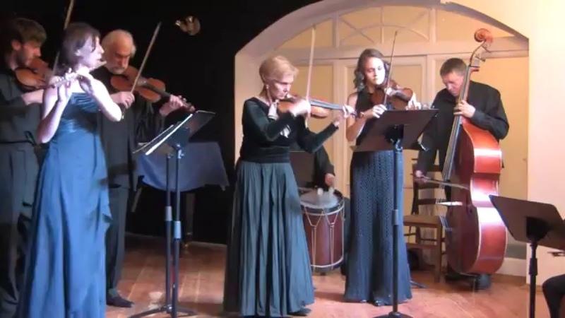 Моцарт - Контрданс. Татьяна Гринденко (скрипка) и ансамбль Opus Posth