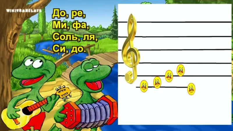 До, ре, ми, фа, соль - Do, re, mi, fa, sol - Level 1-3