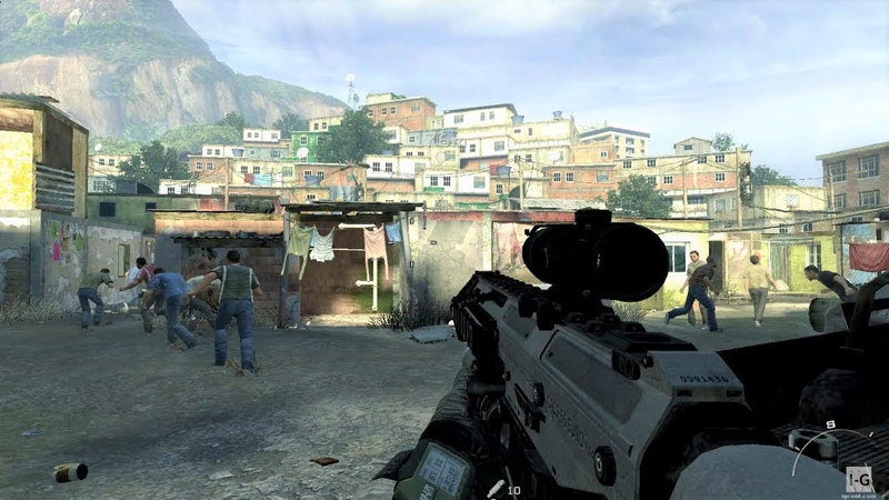 Capturing Mission in the Favela Takedown Call of Duty Modern Warfare 2