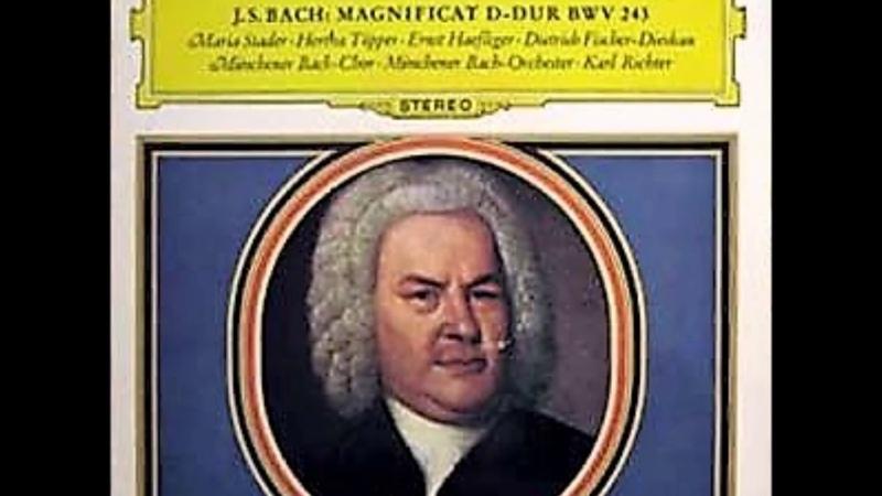 Karl Richter - Bach : Magnificat in D Major, BWV 243