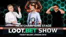LOOT.BET SHOW CS:GO: New Champions Stage – FACEIT Major: London 2018