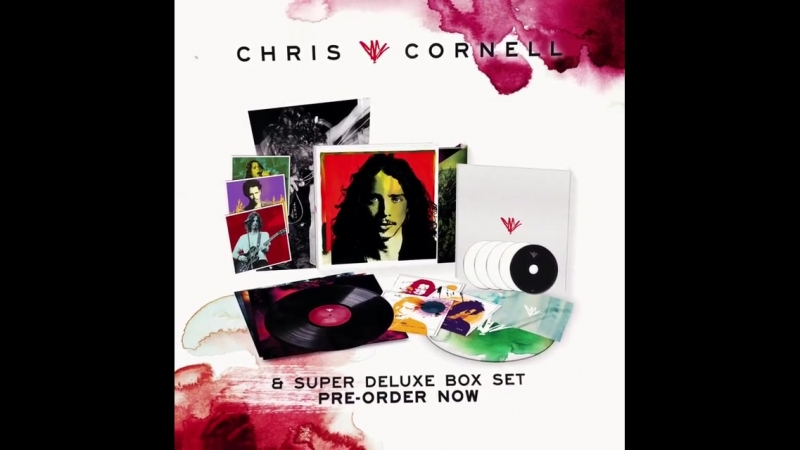 Pre-order the brand new collection from Chris Cornell