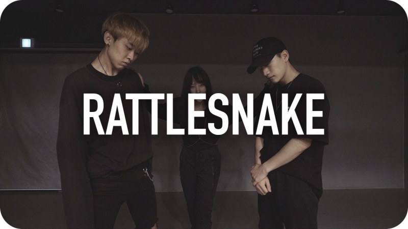 1Million dance studio Rattlesnake - Tsar B / Woonha Park Choreography
