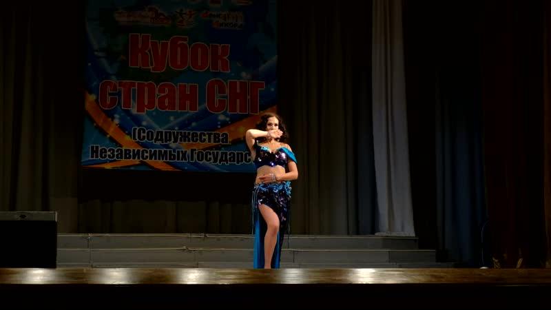 Яновская Дарья Школа восточного танца Бисер Табла