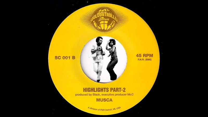 Musca - Highlights Parts 12 [Soul Controller] 2013 Modern Funk Boogie 45