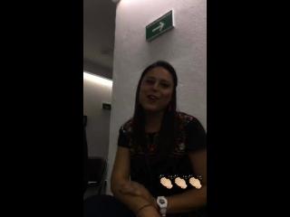 Giovanna Reynaud en «Instagram Stories»   07.10.18