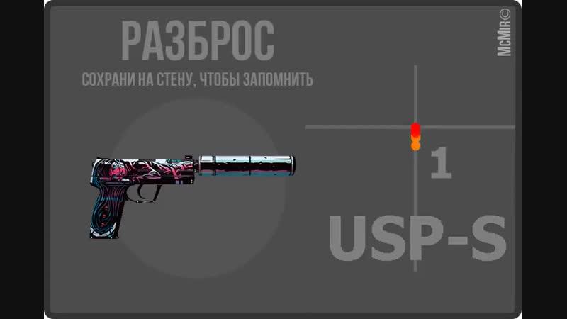 Разброс USP-S