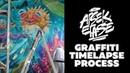 Arsek Erase - Aquarium graffiti Timelapse