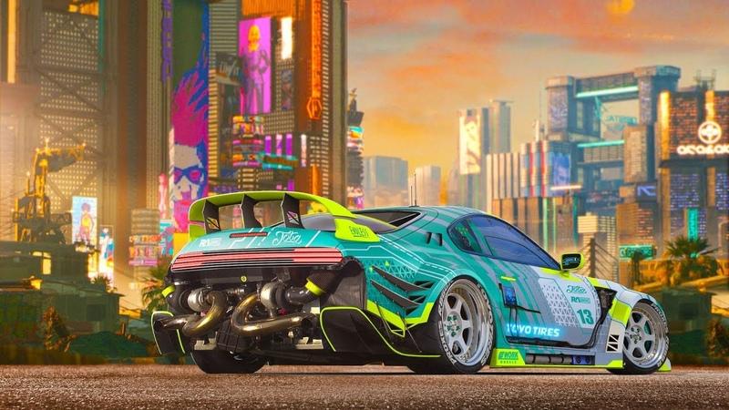 Need for Speed Underground 2 - Toyota Supra Mark 4 - Tuning And Drift