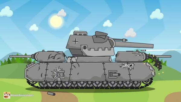 World of Tanks: Стальной демон - Мультики про танки